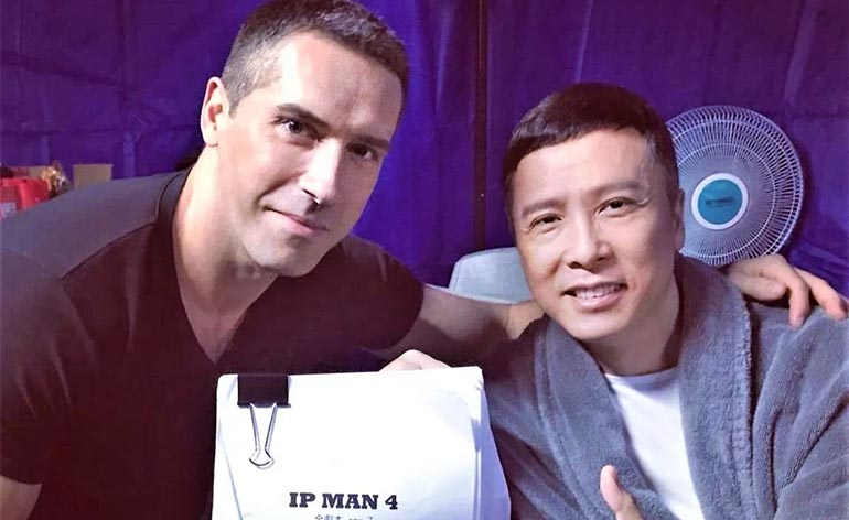 Scott Adkins Joins Ip Man 4!