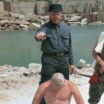 Donnie Hansen initiates his newest recruit