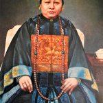 His Chinese great grandmother, Sze Tai Circa 1890 - courtesy of Andrew E.Tse