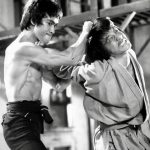 With Jackie Chan in Enter the Dragon - Credit Photofest