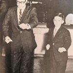 With Robert Lee at the cha-cha championships, 1958 - Courtesy of David Tadman