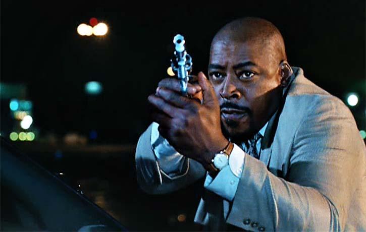 Detective Gresko takes aim