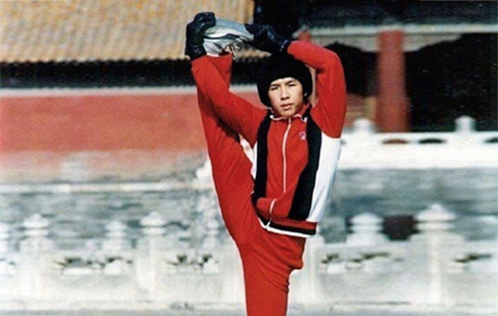 Donnie Yen training in Beijing