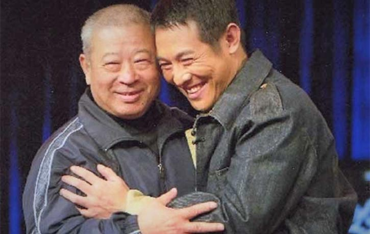 Master Wushu Coach Wu Bin reunites with film star Jet Li