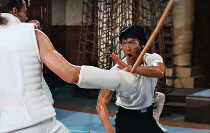Tommy channels his inner Bruce Lee!