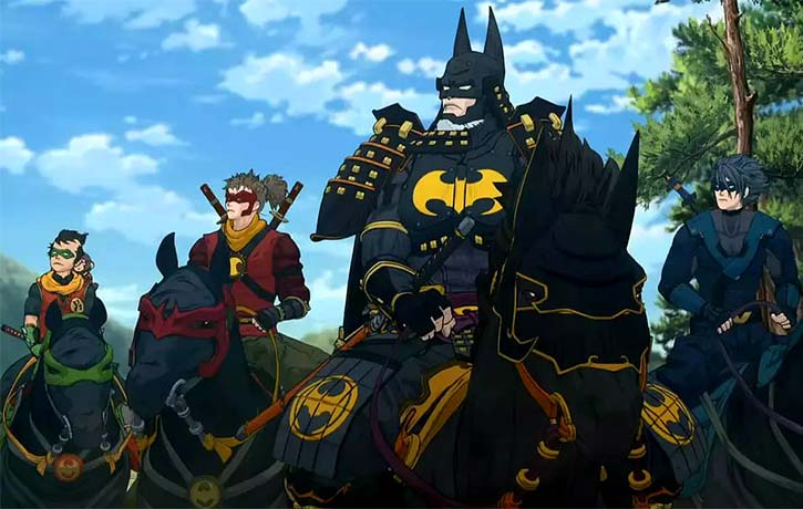 Batman and his allies adapt their skills to their new setting