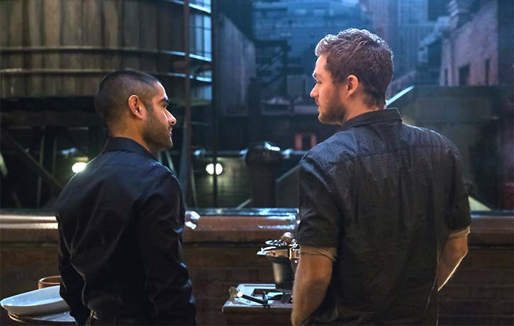 Davos holds a bitter grudge against Danny Rand