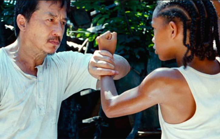 Dre finally understands Mr. Han's training methods