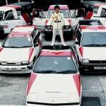 Promoting Mitsubishi cars as Dragon Ma!