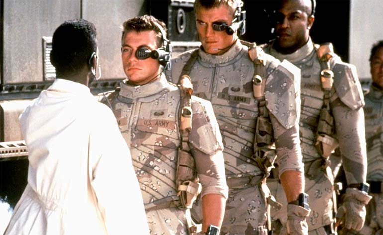 "Re-imagining of ""Universal Soldier"" in the works!"
