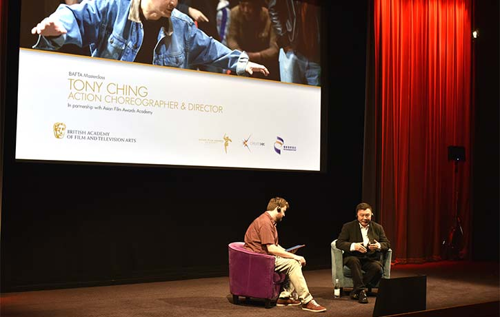 Tony Ching at BAFTA Masterclass