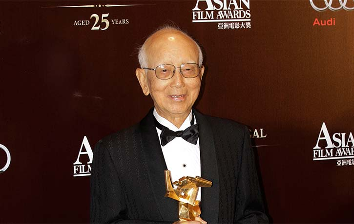 Raymond Chow received a Lifetime Achievement Award