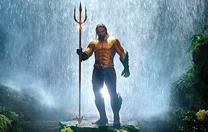 Aquaman brings the torrent!