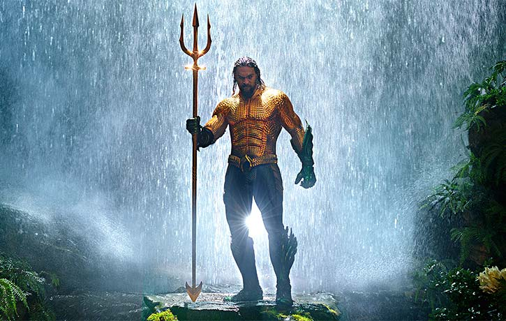 Aquaman brings the torrent!