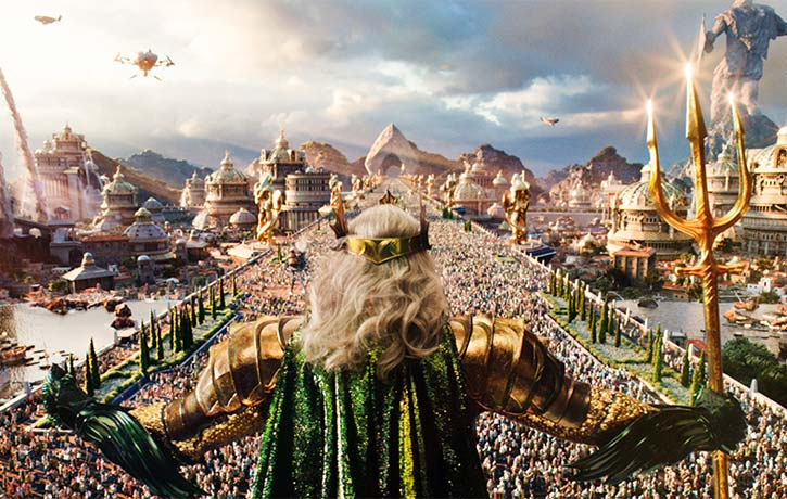 Long before Atlantis sank into the sea, King Atlan sat at its throne