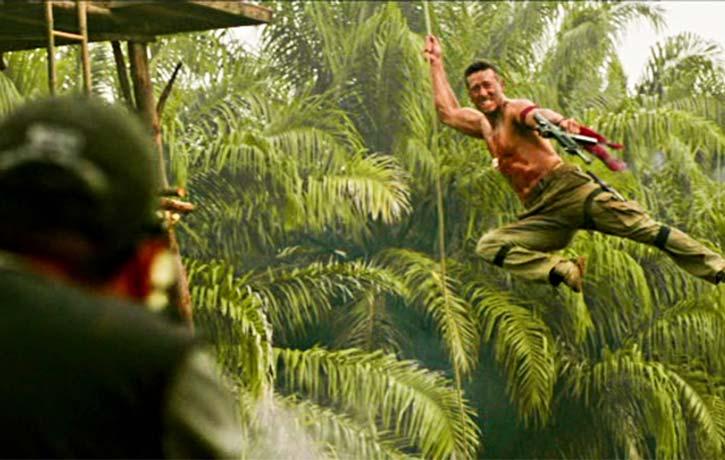 Jungle Fu swingabout!