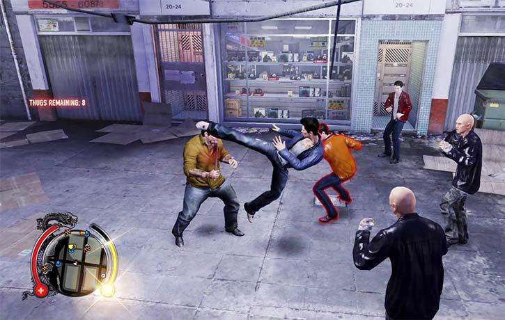 Wei blasts off the tornado kick
