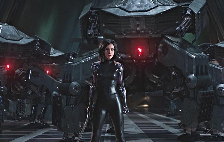 Alita is ready to take to the streets as a Hunter Warrior