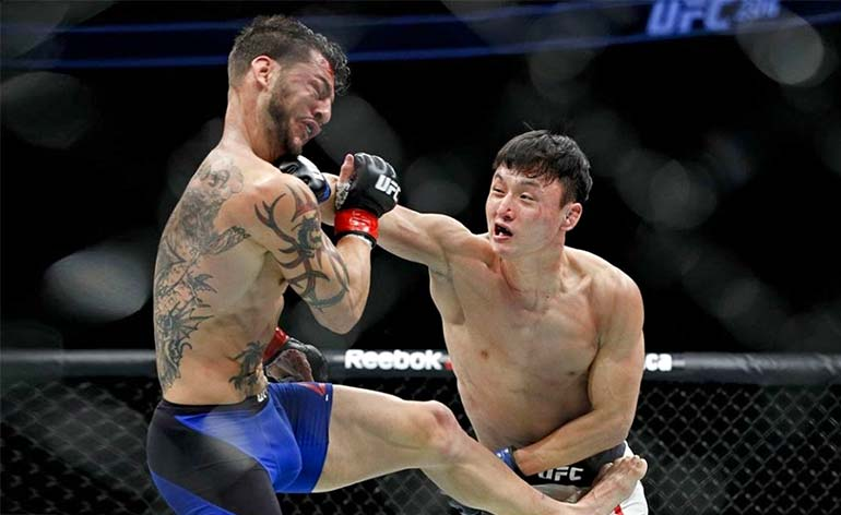 Top 5 MMA Finishes – Doo Ho Choi
