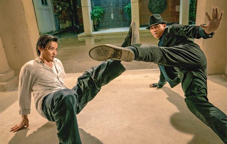 Cheung deflects Sadi's unorthodox assault