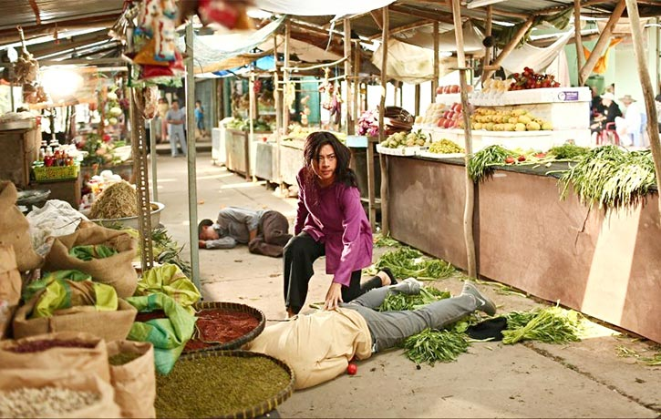 Veronica Ngo's character brings Furie to the marketplace