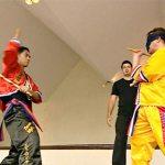 Master Ernesto Presas stick fights at lightning speed blindfolded
