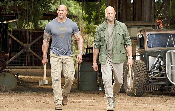 Hobbs and Shaw are ready to rumble