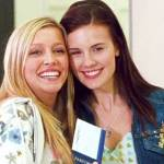 Katie Cassidy and Maggie Grace