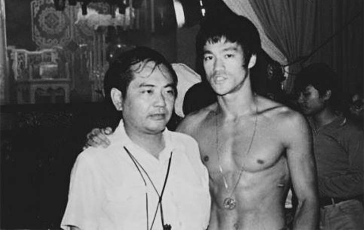 Bruce Lee visited King Hu on the set of The Fate of Lee Khan during the filming of Enter the Dragon
