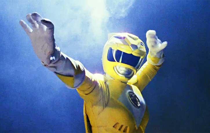 Aisha Campbell the Yellow Ranger