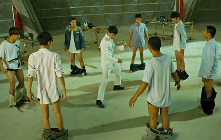 Chen Zhen bring pants down