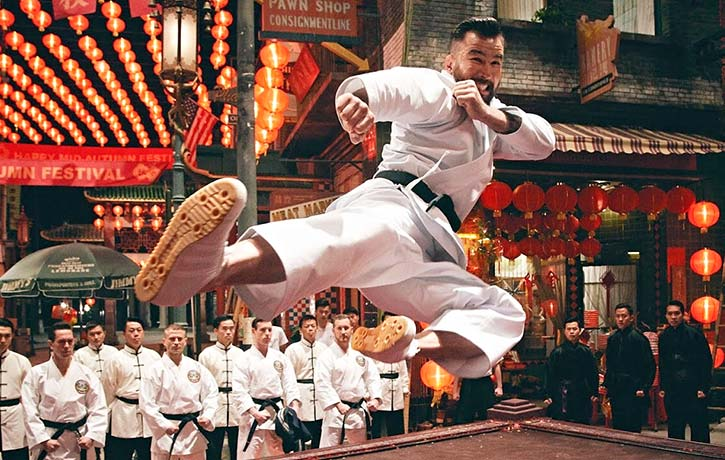 Chris flies into action in Ip Man 4 The Finale!