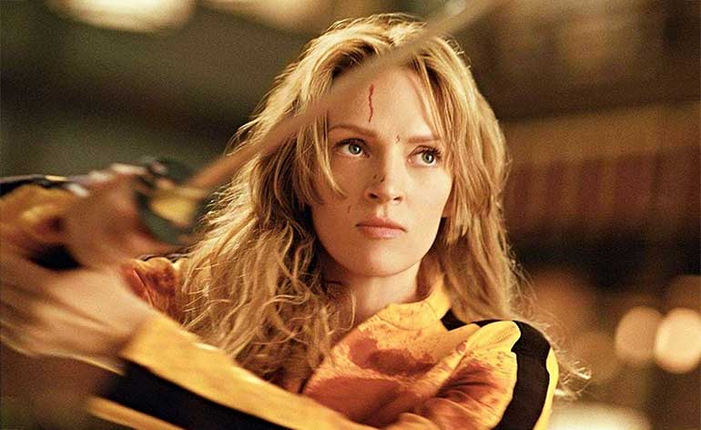 Kill Bill Vol. 3: on the cards says Quentin Tarantino!