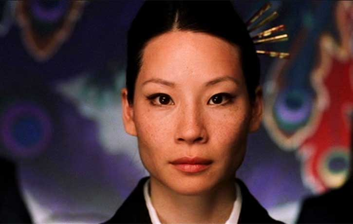 Lucy Liu stars as O Ren Ishii Codenamed Cottonmouth