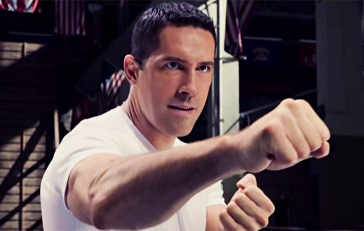 Scott Adkins plays a Marine sergeant with eager fists!