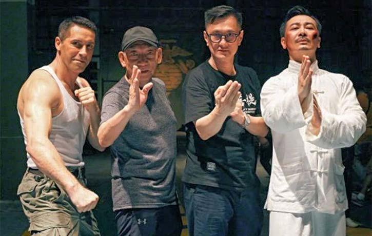 Scott Adkins with Yuen Woo Ping, Wilson Yip & co