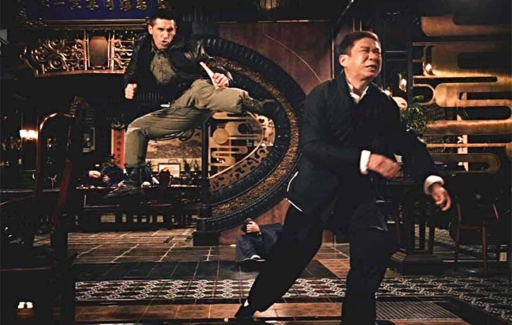 Scott throws everything and the kitchen sink into Ip Man 4!