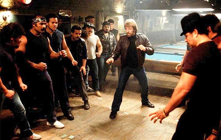 Chuck vs baddies!