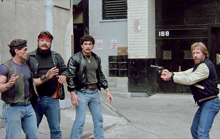 Cusack catches the bad dudes