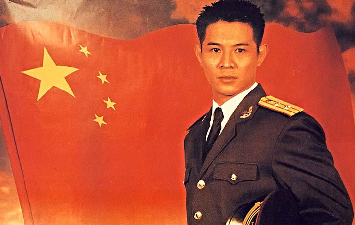 Jet Li doing China proud