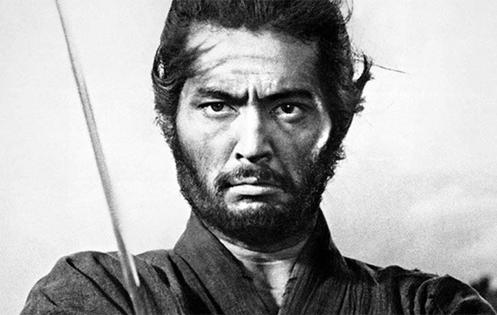 Toshiro Mifune gets visceral in Kurosawa's Seven Samurai