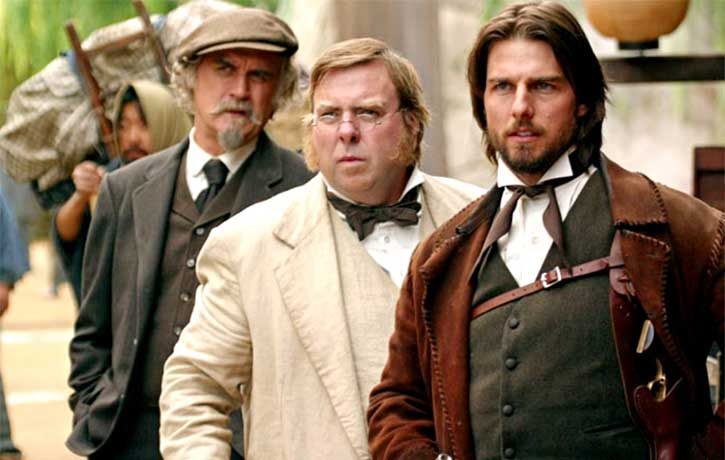 Billy Connolly, Timothy Spall and Tom Cruise