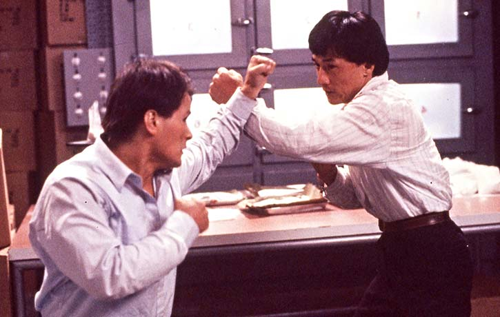 Dragons Forever is one of the finest examples of martial arts movie action