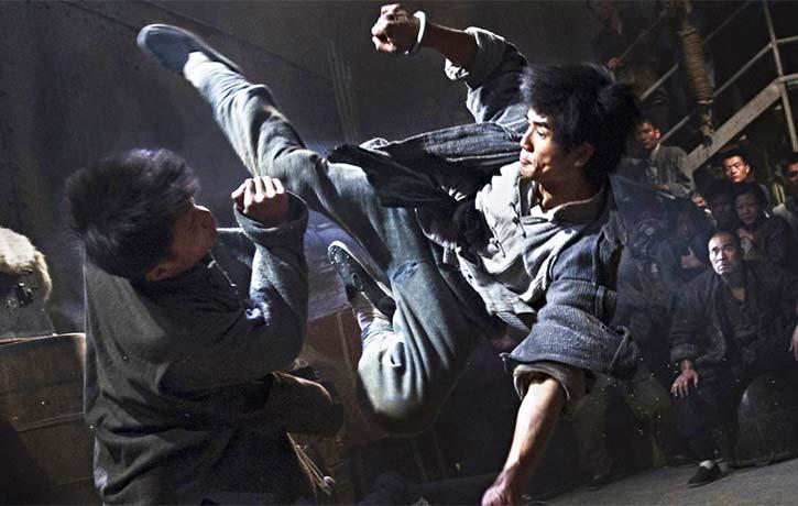 Ma Yongzhen leaps into action with a tornado kick!