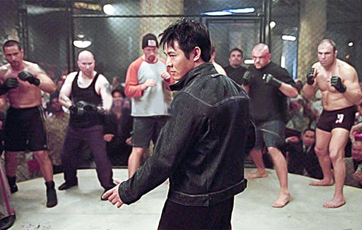 One of Randy's early roles was as a cage fighter in 2003's Cradle 2 the Grave