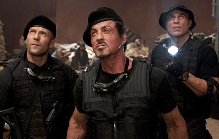Randy joined an action movie ensemble in 2010's The Expendables
