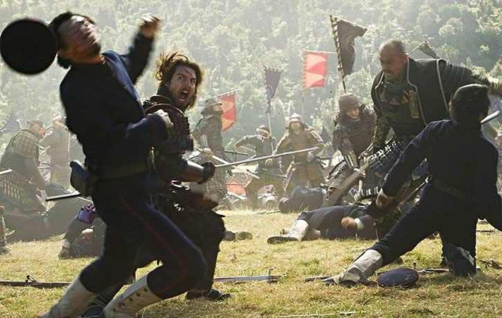 The samurai take a frenzied fight to their enemy