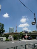 快晴(式場付近から見た東京タワー)
