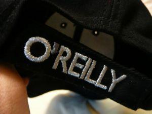 オライリー帽子