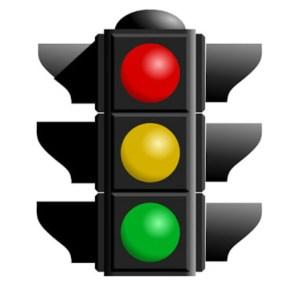 rangkaian lampu lalu lintas 1